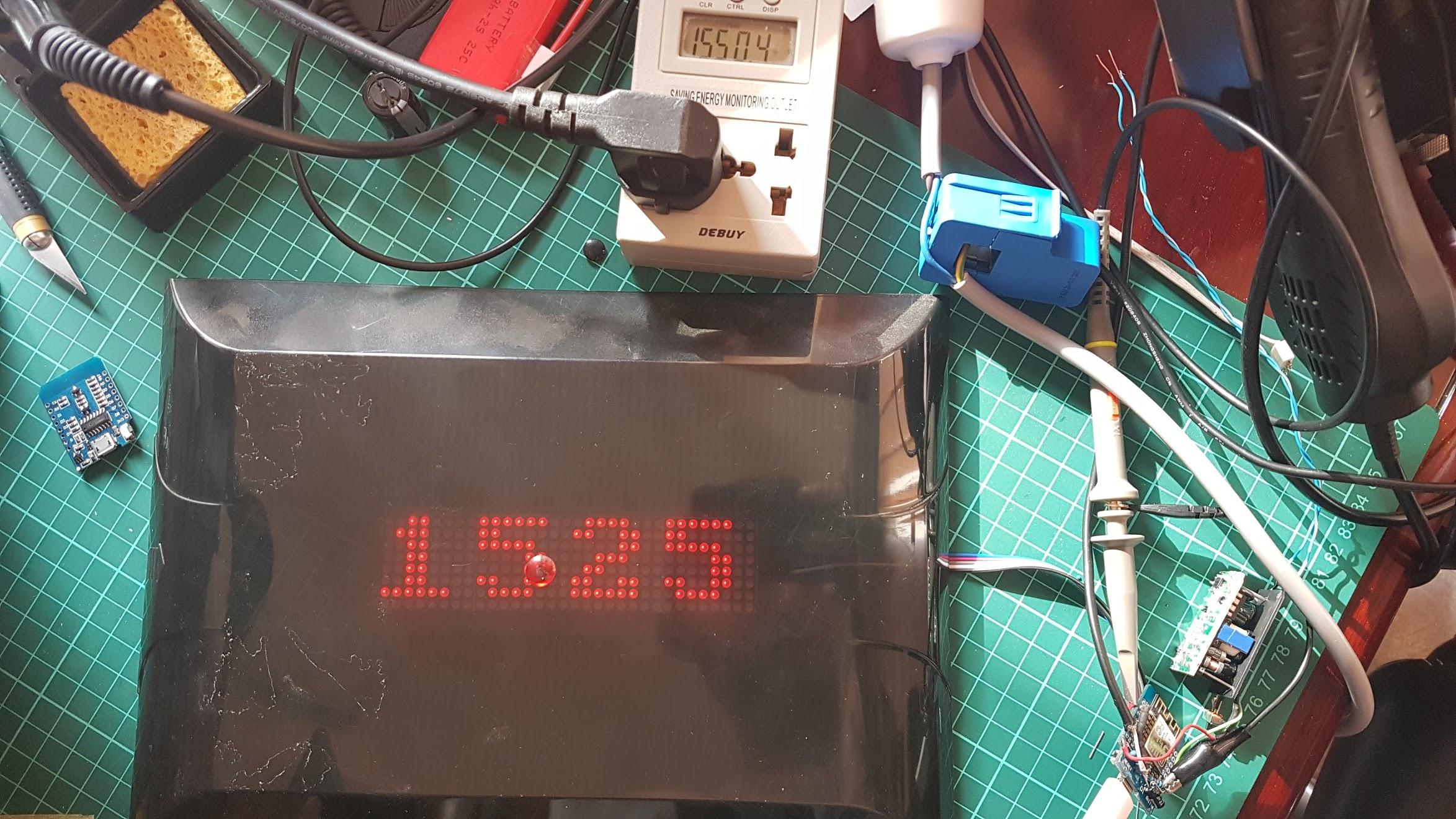 Energy monitor prototype